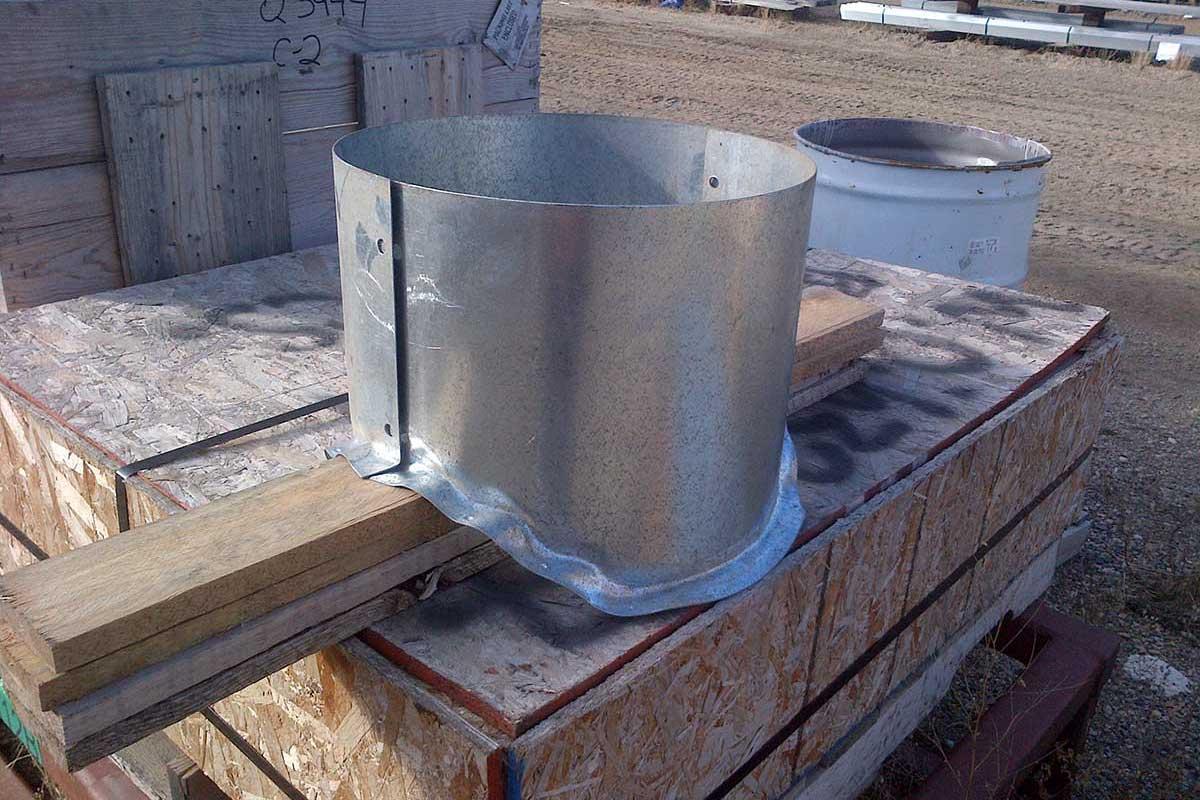 Meridian Mfg. - Adaptateur de ventilateur de toit de 40,6 cm (16 po) de diamètre, pour ArchWall standard utilitaire