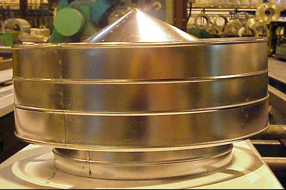 Meridian Mfg. - Ventilateur de toit (40,6 cm [16 po], stationnaire)