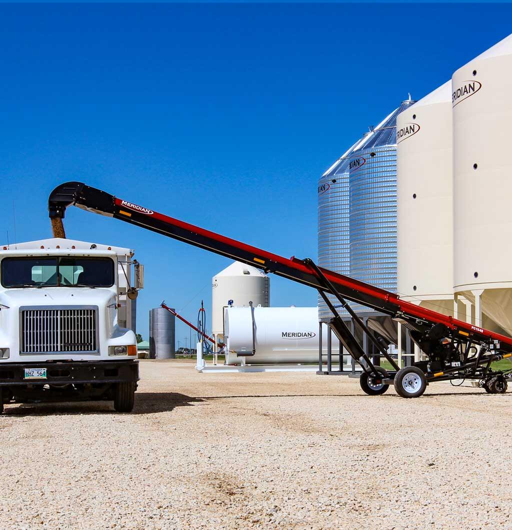 Convoyeurs de chargement des camions série 1500