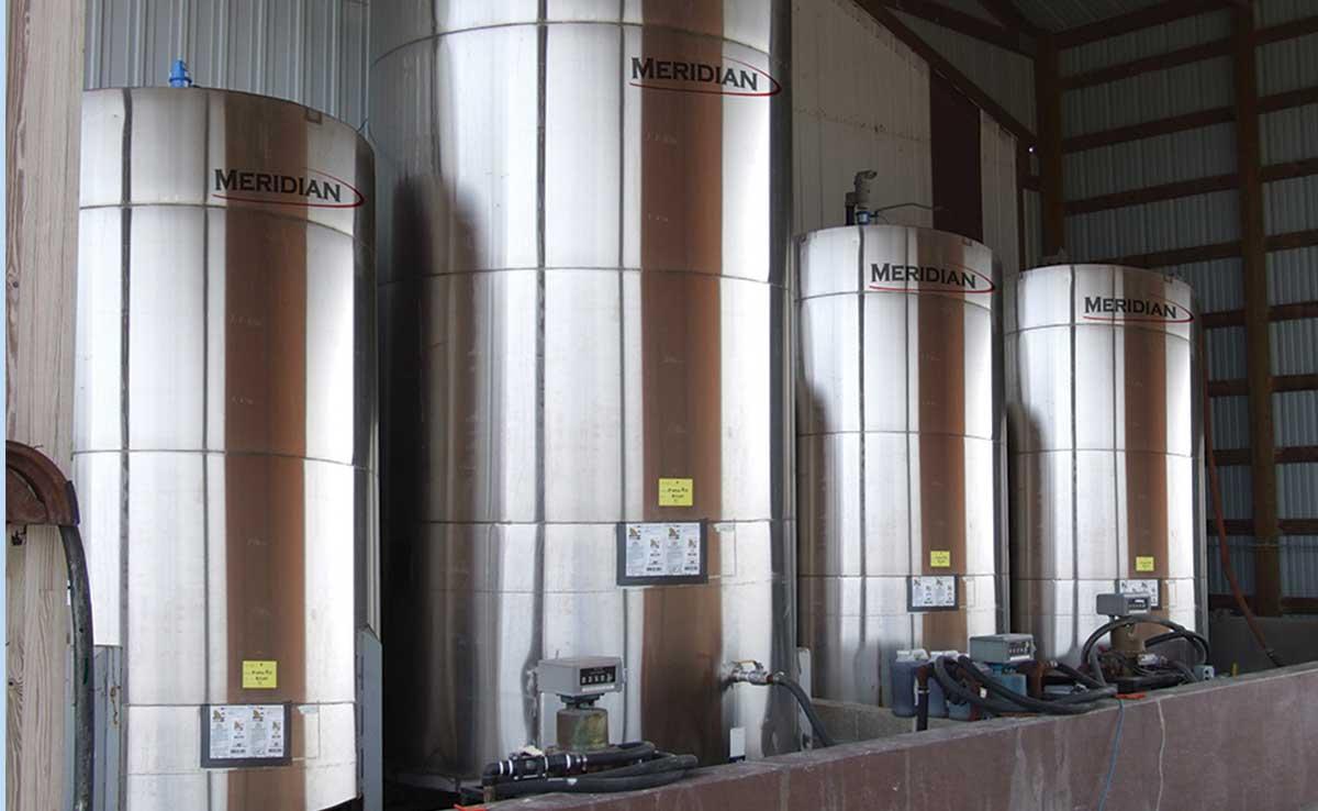 Réservoirs de produits chimiques en acier inoxydable