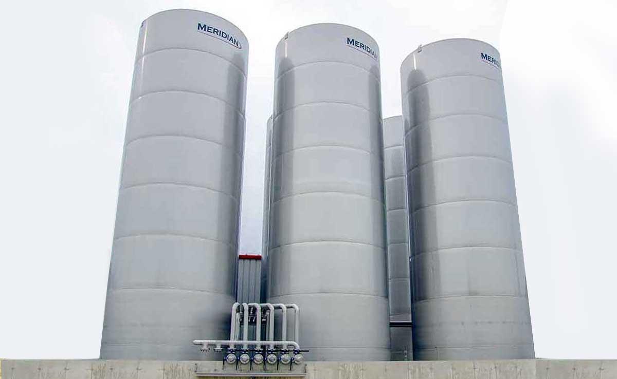 Réservoirs à fond plat en acier inoxydable