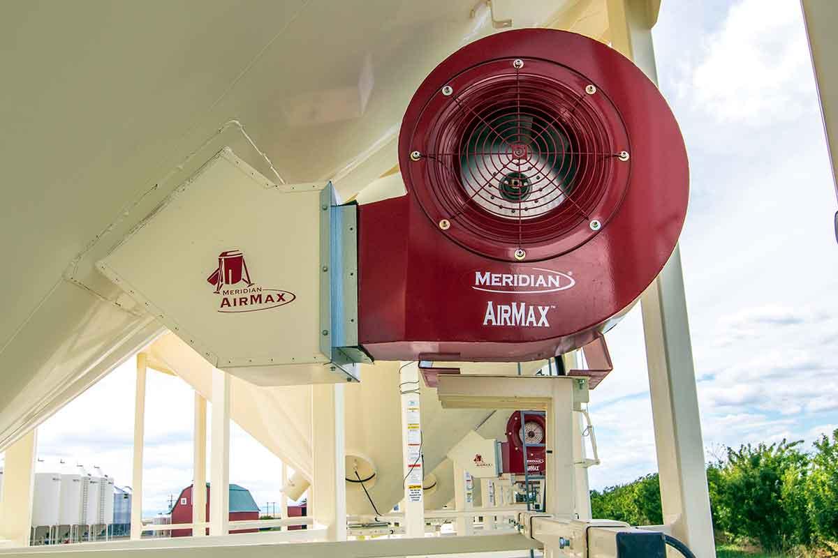 Meridian Mfg. - Support de fixation sur ventilateur