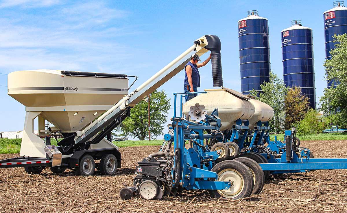 Remorque Bulk Seed Tenders® Seed Express® 405 SLD