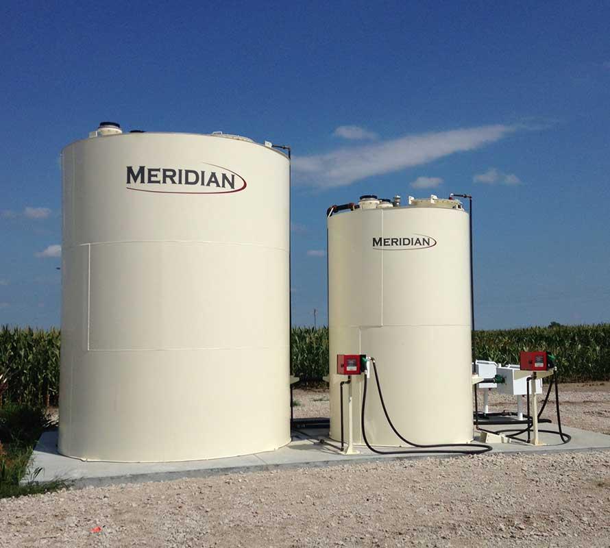 Réservoirs à carburant verticaux