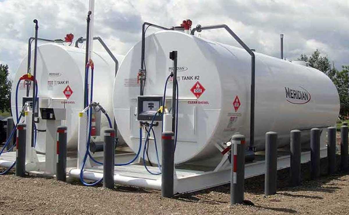 Réservoirs de carburant horizontaux à double paroi