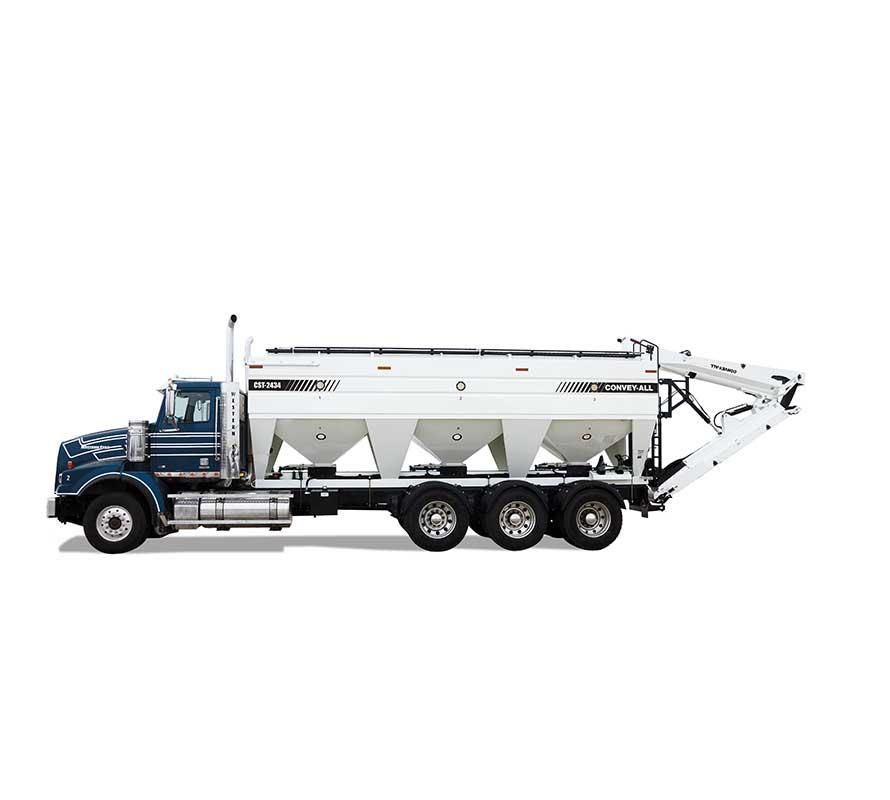 Remorques à semences à montage sur camion